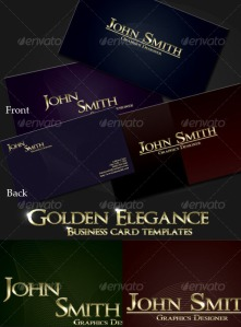 Tru-Gold Elegance Business Card Templates