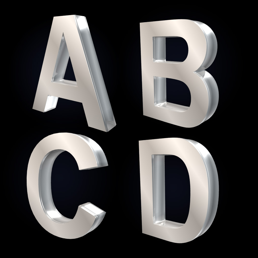 S Alphabet 3d 3d text | The D...