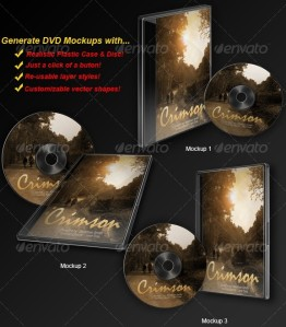 DVD Mockup Generator